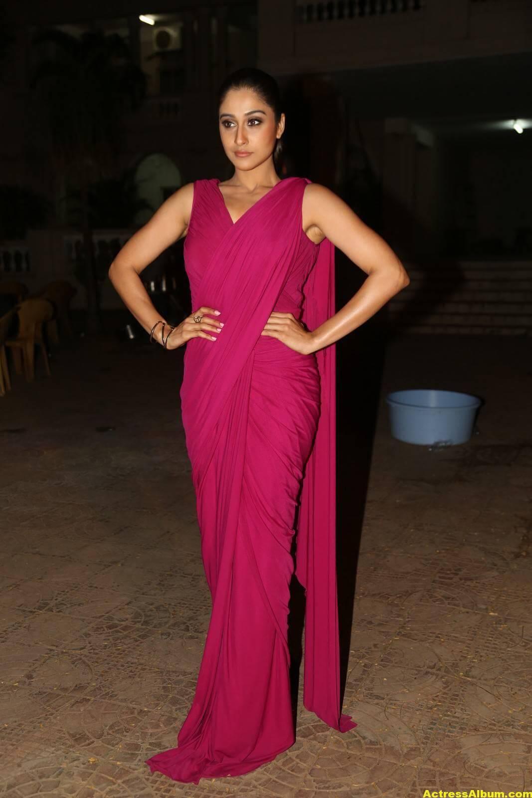 Regina Cassandra Stills At Soukyam Movie Press Meet 3