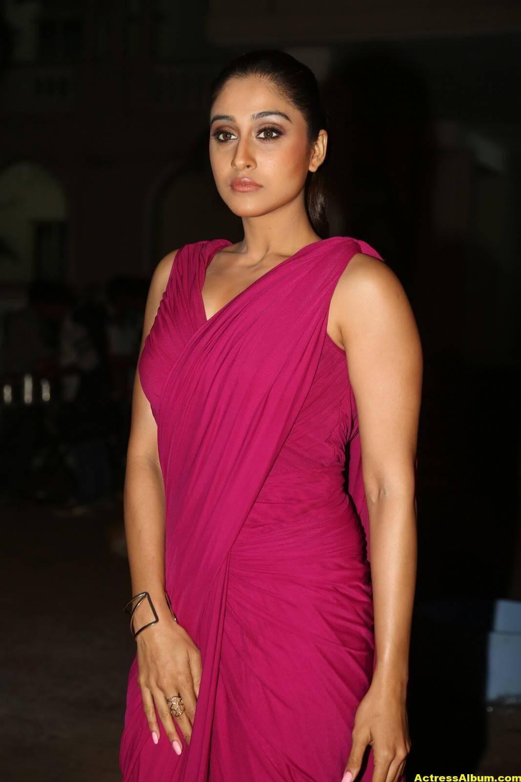 Regina Cassandra Stills At Soukyam Movie Press Meet 4