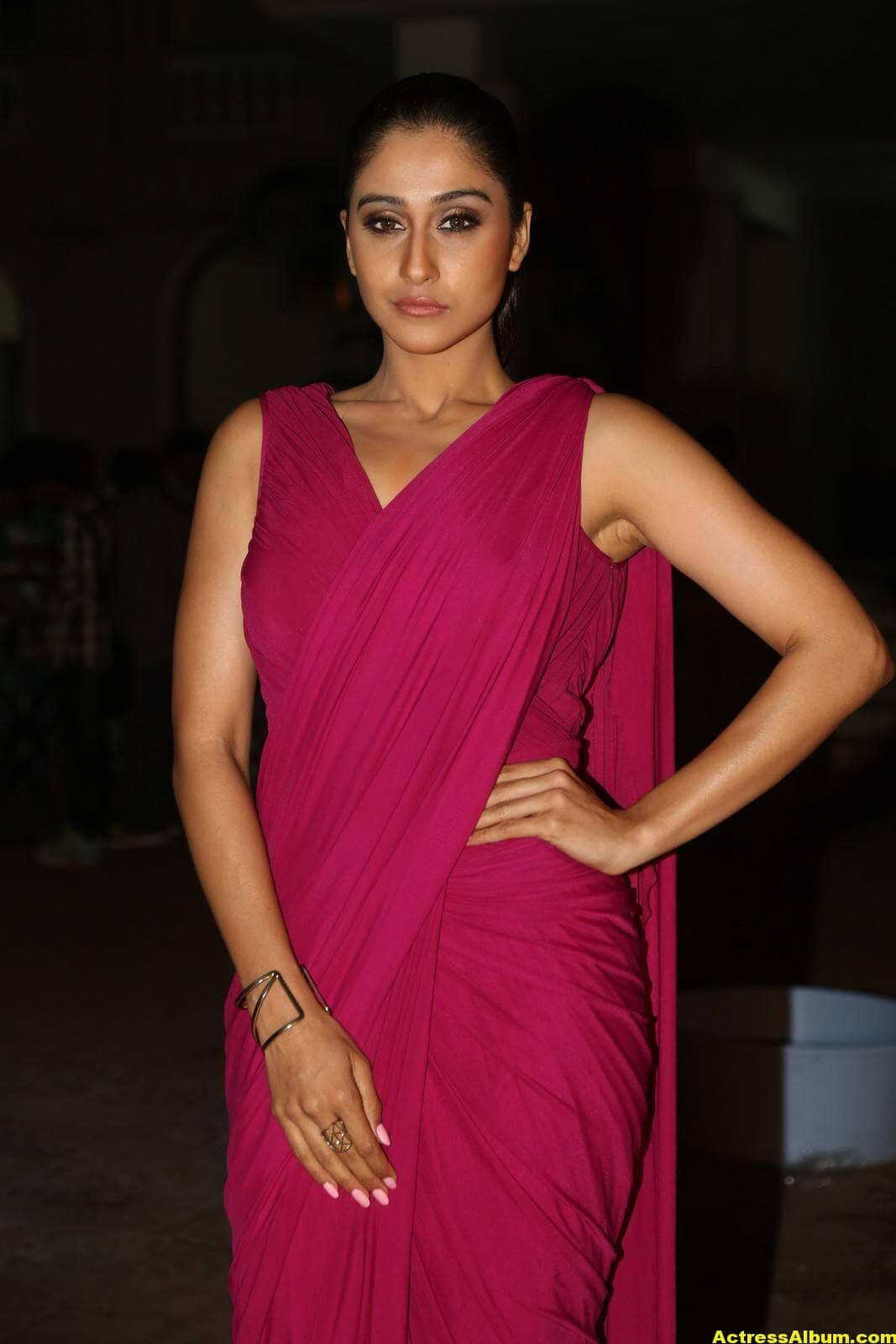 Regina Cassandra Stills At Soukyam Movie Press Meet 5