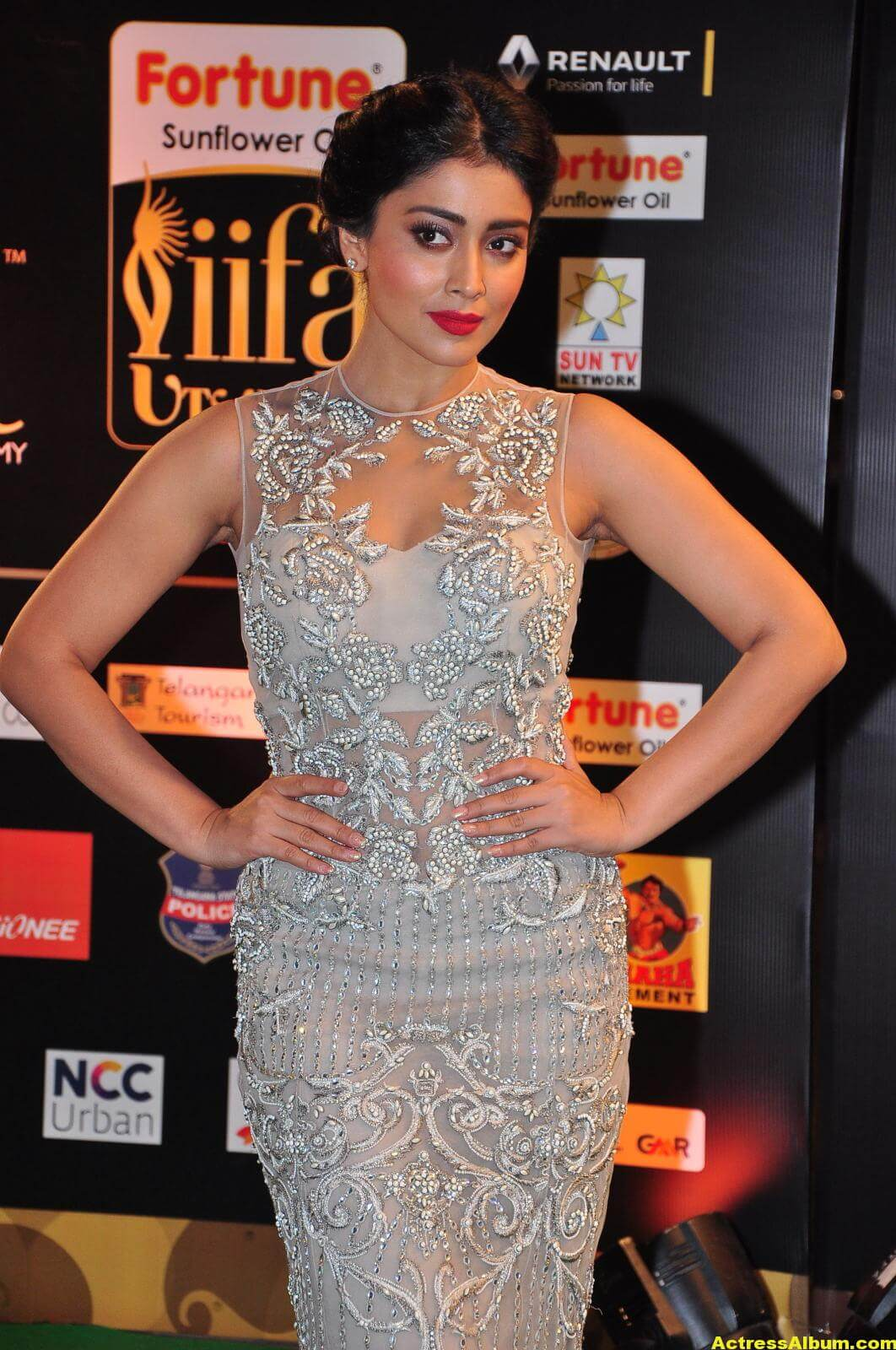 Shriya Saran Hot in IIFA Utsavam in White Dress 6