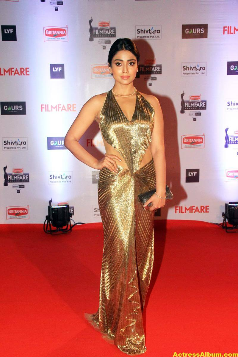 Shriya Saran Latest Photos at Filmfare Awards 2
