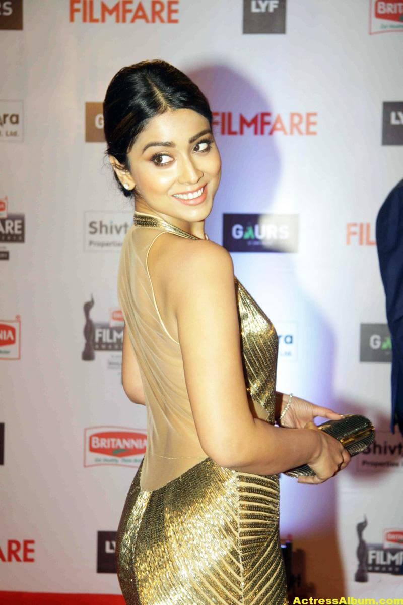 Shriya Saran Latest Photos at Filmfare Awards 4