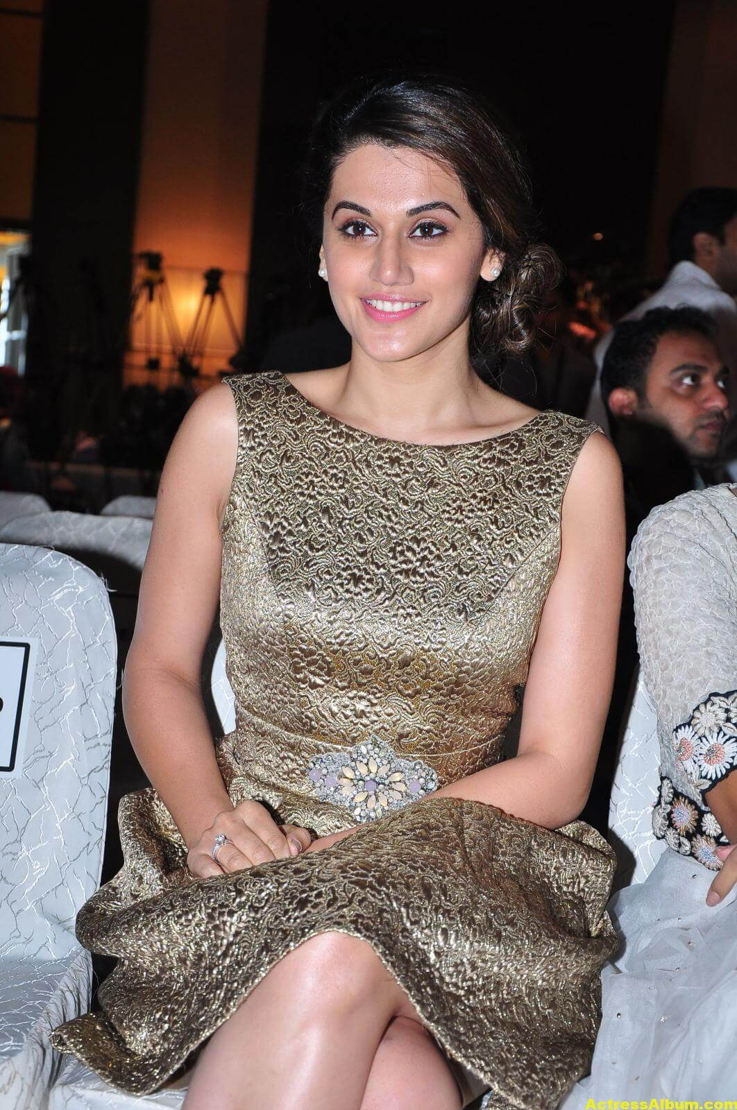 Taapsee Pannu Hot Images In Short Dress 4