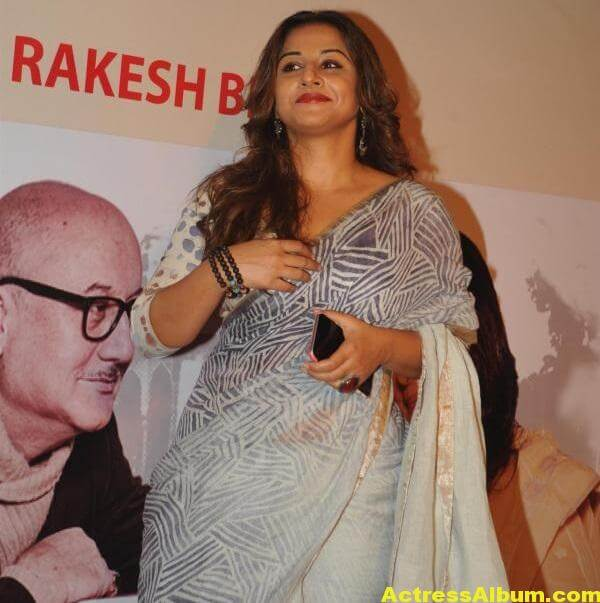 Vidya Balan Very Hot Beautiful Photoshoot In White Saree 4
