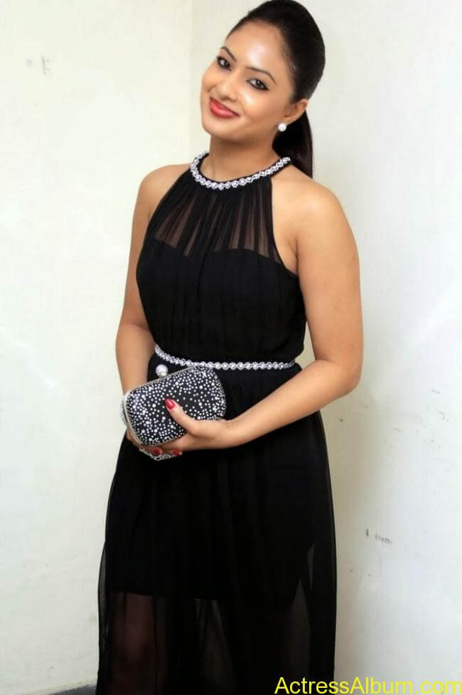 nikesha-patel-hot-in-black-dress-2