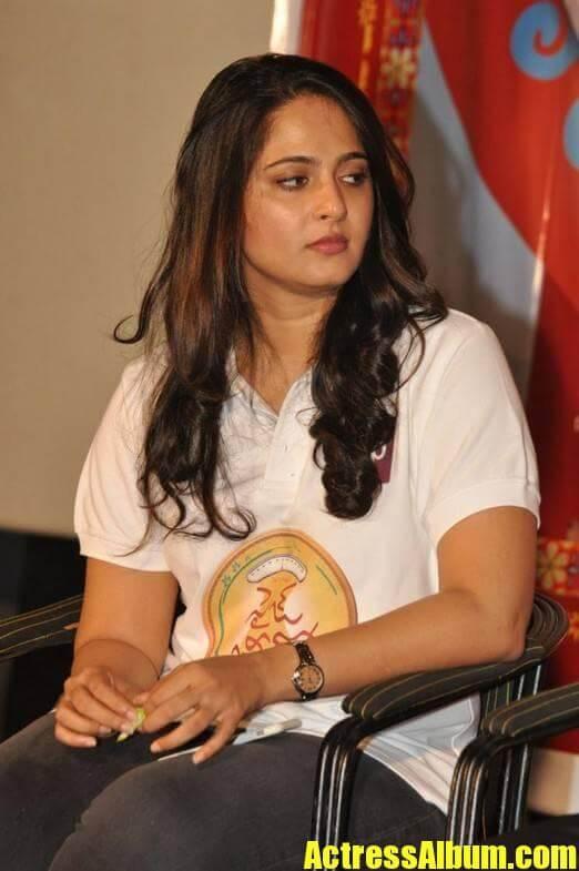 Anushka Stills At Size Zero