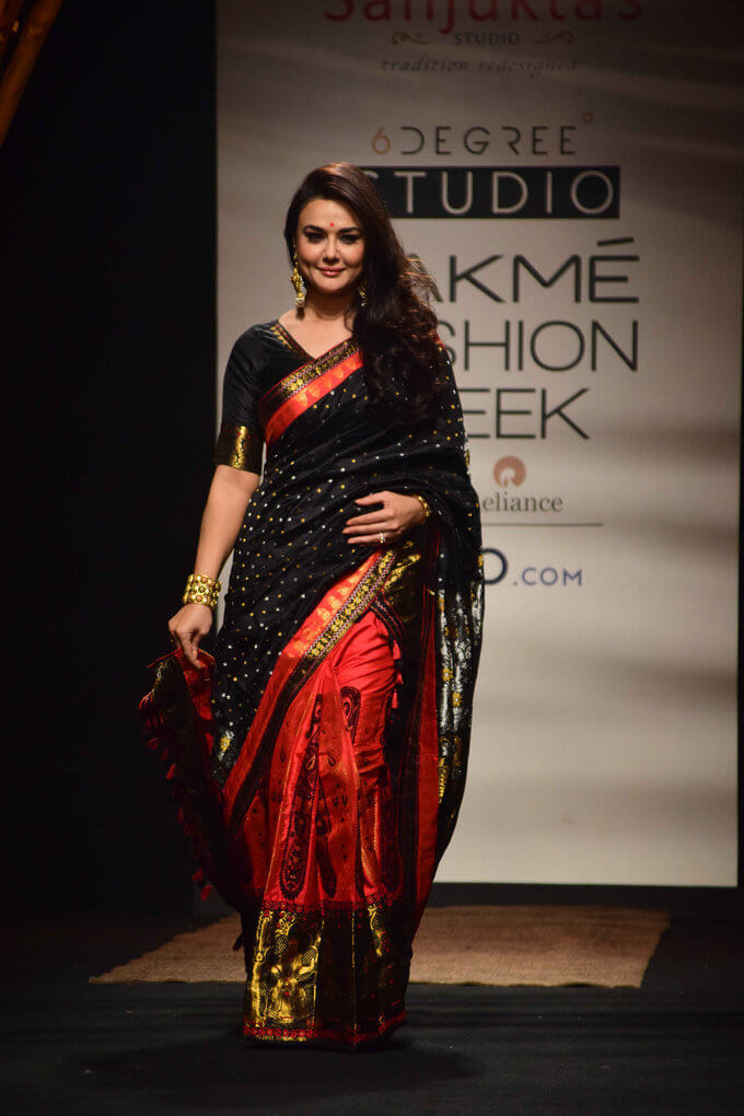 Preity Zinta At Lakme Fashion Week