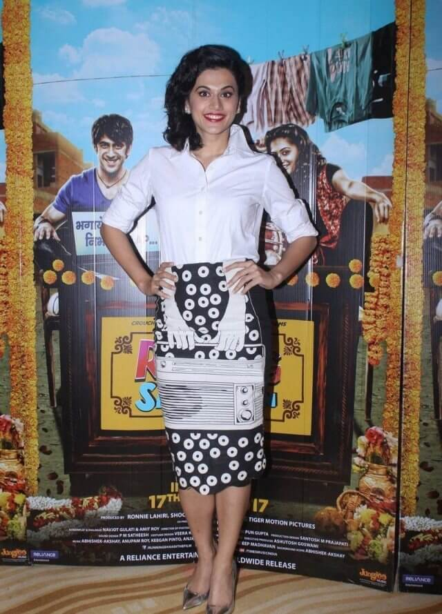 Taapsee Pannu In White Shirt
