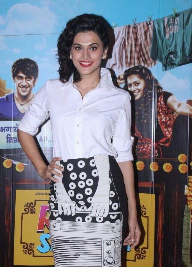 Taapsee Pannu At Film Press Conference