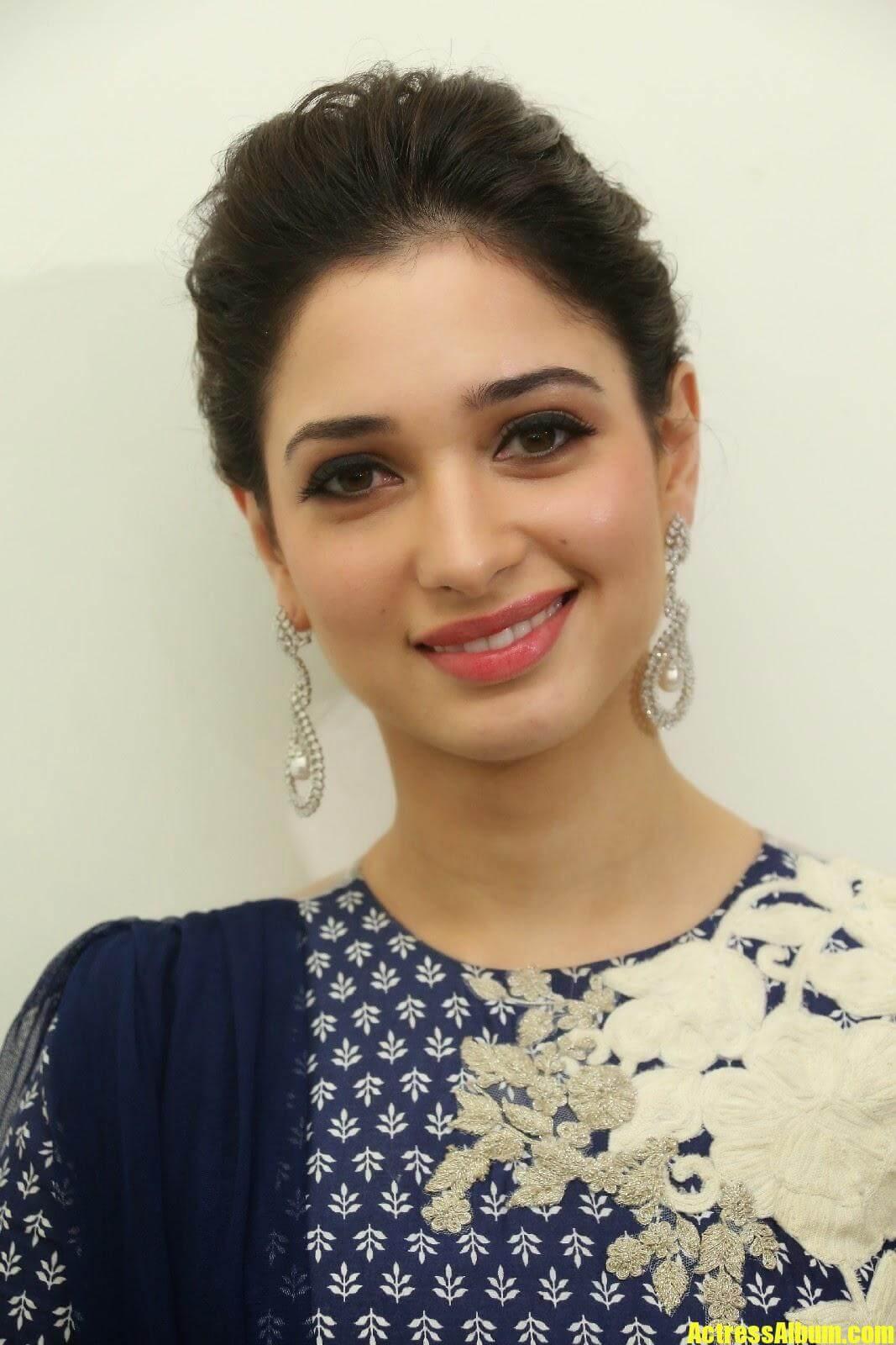 Actress Tamanna Smile