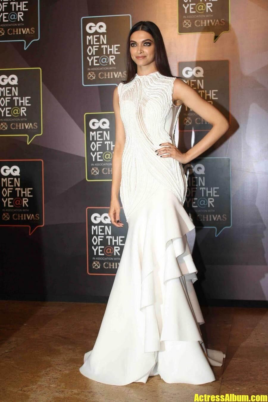 Hot Deepika Padukone Photos In White Gown Actress Album