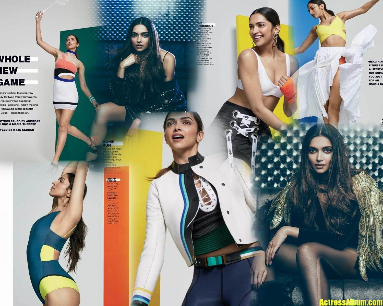 Bollywood Actress Deepika Padukone Latest Hello Magazine ...