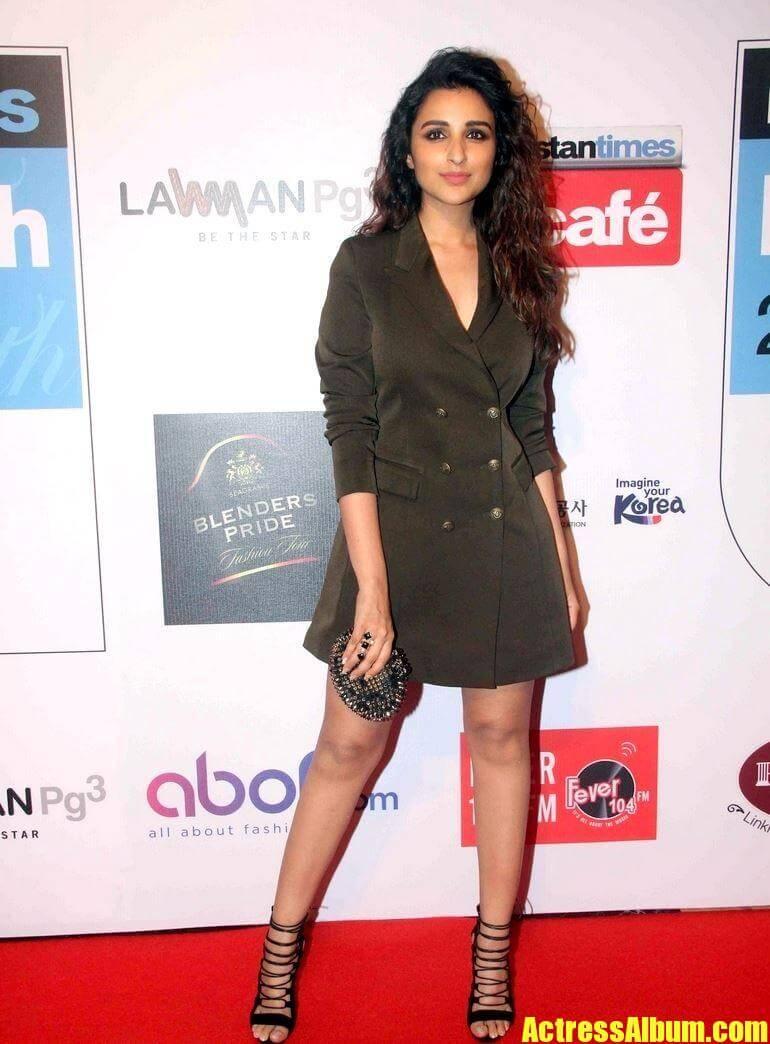 Parineeti Chopra In Green Skirt