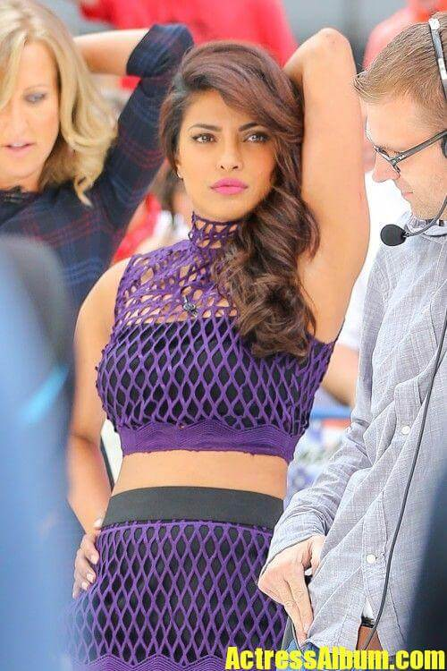Priyanka Chopra Pictures at Good Morning America TV Show