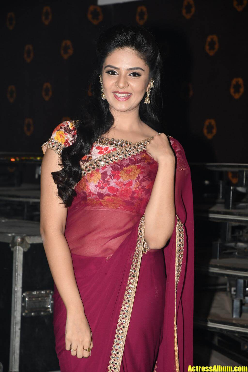 Sri Mukhi At Pelli Chupoolu Audio Launch - Actress Album-2496