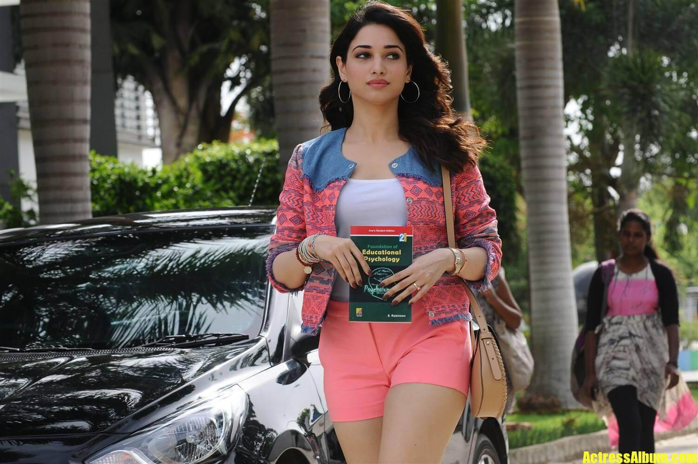 Tamanna Kaththi Sandai Movie Stills