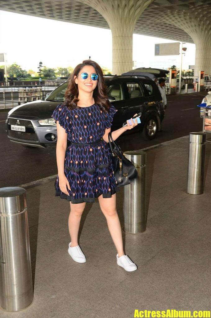 Tamanna Looks Gorgeous In Airport Outfit