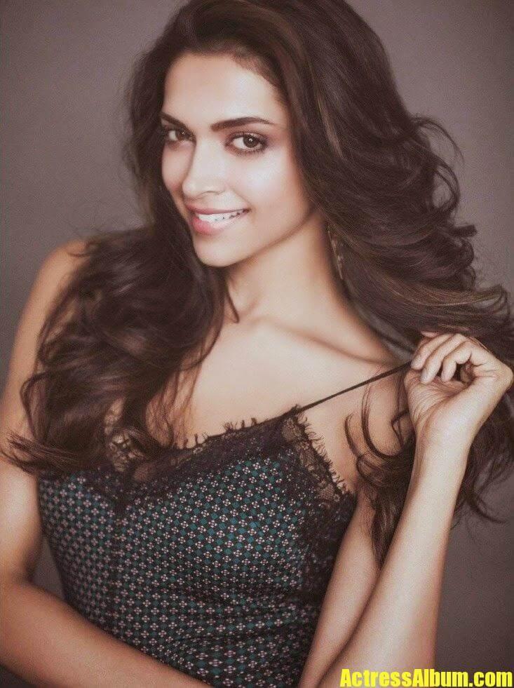 Bollywood Hot Deepika Padukone Filmfare Magazine