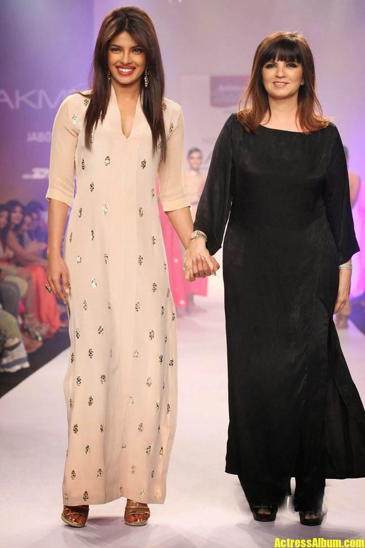 Priyanka Chopra At Lakme Fashion Week