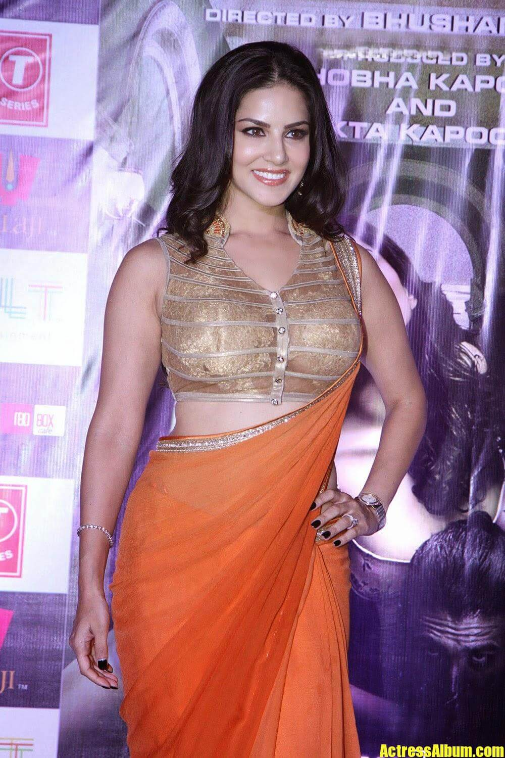 Bollywood Hot Sunny Leone At Ragini Mms 2 Success Press Conference - Actress Album-6557