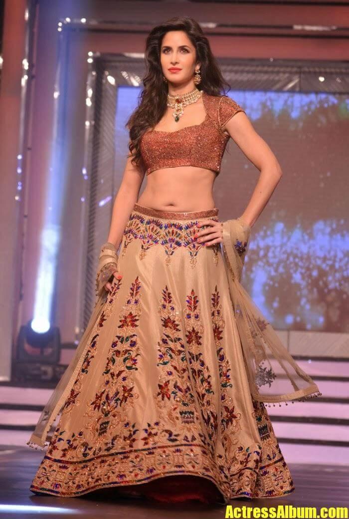 Katrina Kaif In Designer Lehenga