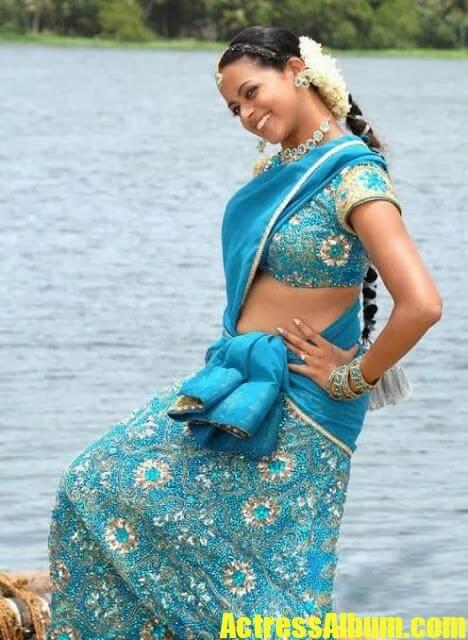 Bhavana hot in blue saree stills actress album bhavana hot in blue saree stills altavistaventures Image collections