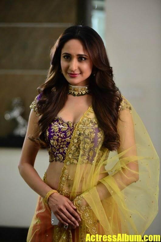 Pragya Jaiswal Hot Glamorous Navel Expose Photos - Actress -2759