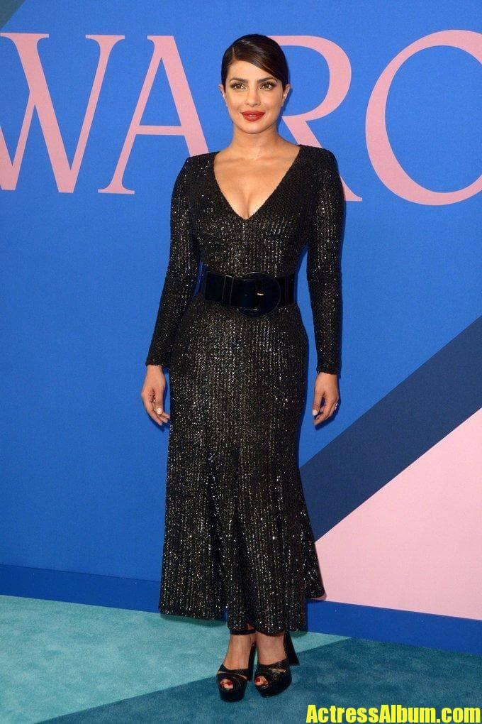 Priyanka Chopra In Black Dress