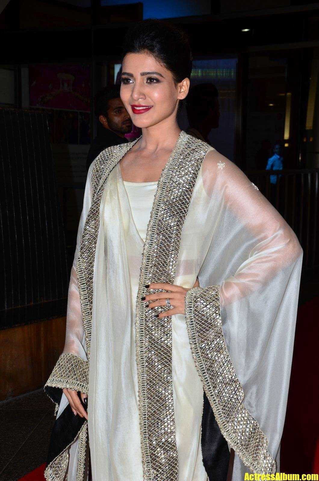Samantha At Jio Filmfare South Awards