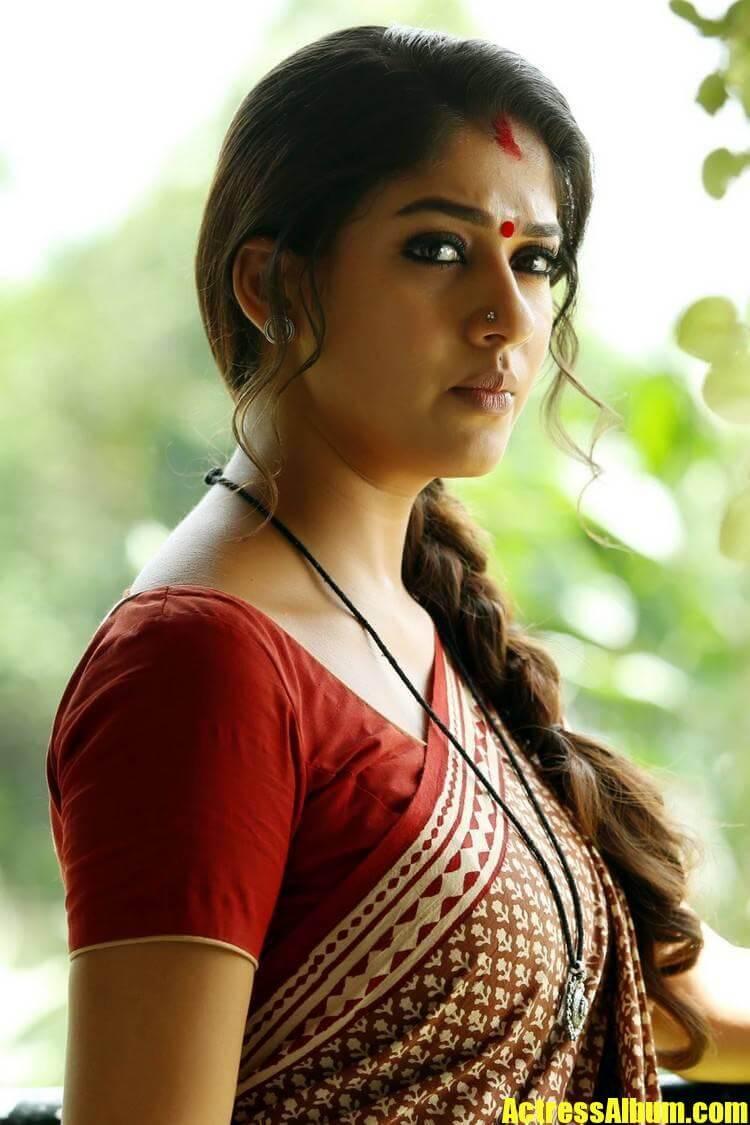Nayantara Saree Photos Gallery Collection - Actress Album-4108