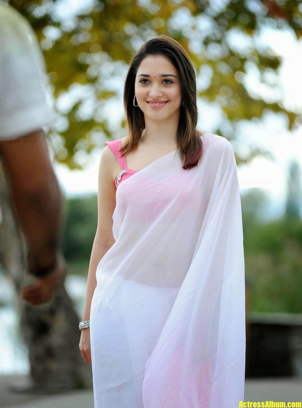 Tamanna Bhatia Exclusive Pics In Saree