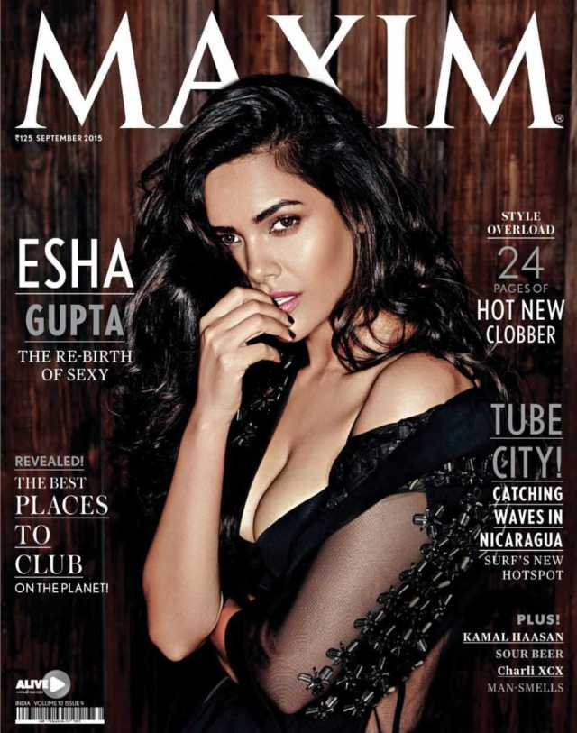 Esha Gupta Hot Photo Shoot for Maxim magazine 2015 HQ 6 - Esha Gupta most Sexiest Photos-Bikiniwear Pictures-Hot Hd Wallpapers