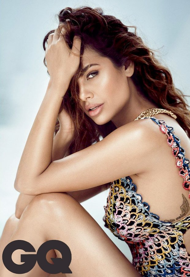 HOT Sultry siren Esha Gupta is Internet with her sexy bikini photoshoot for GQ 1 - Esha Gupta most Sexiest Photos-Bikiniwear Pictures-Hot Hd Wallpapers