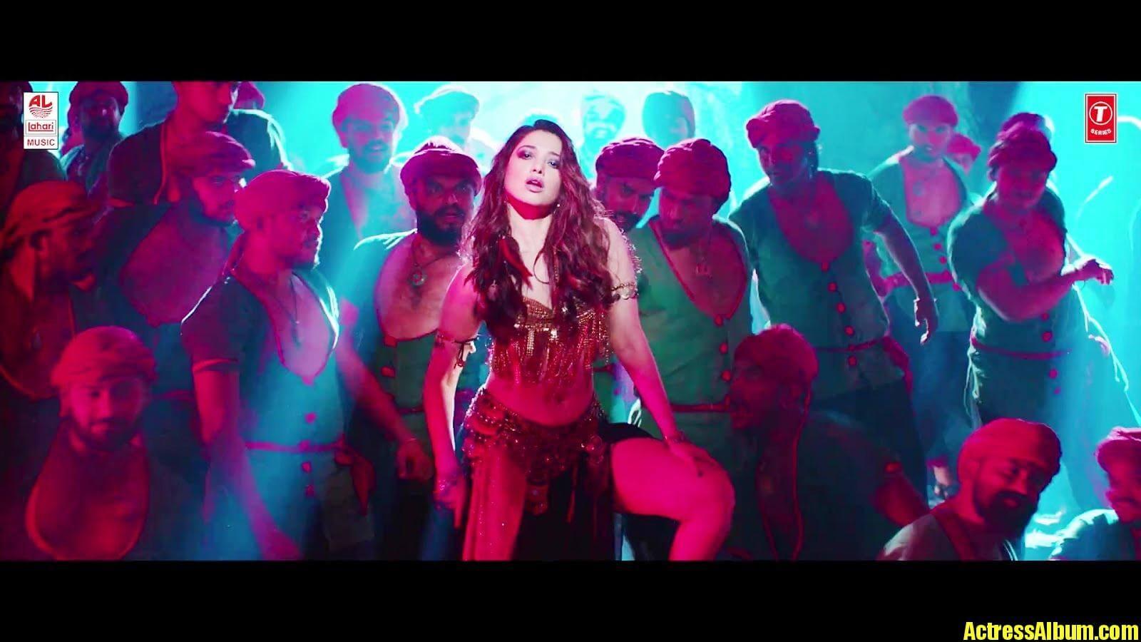 Tamanna Hot stills In Item Song