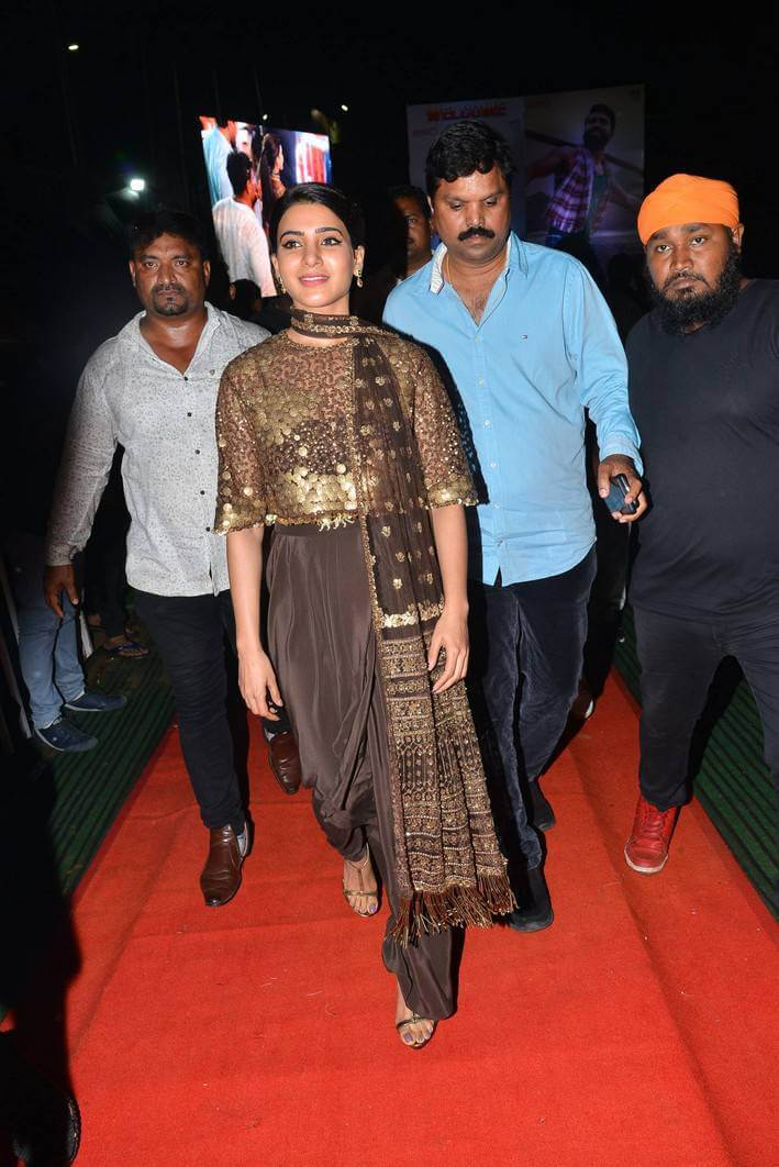 Samantha At Rangasthalam Film Pre Release Event