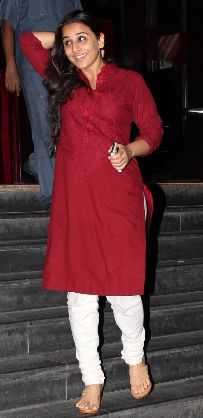 Vidya Balan In No Makeup