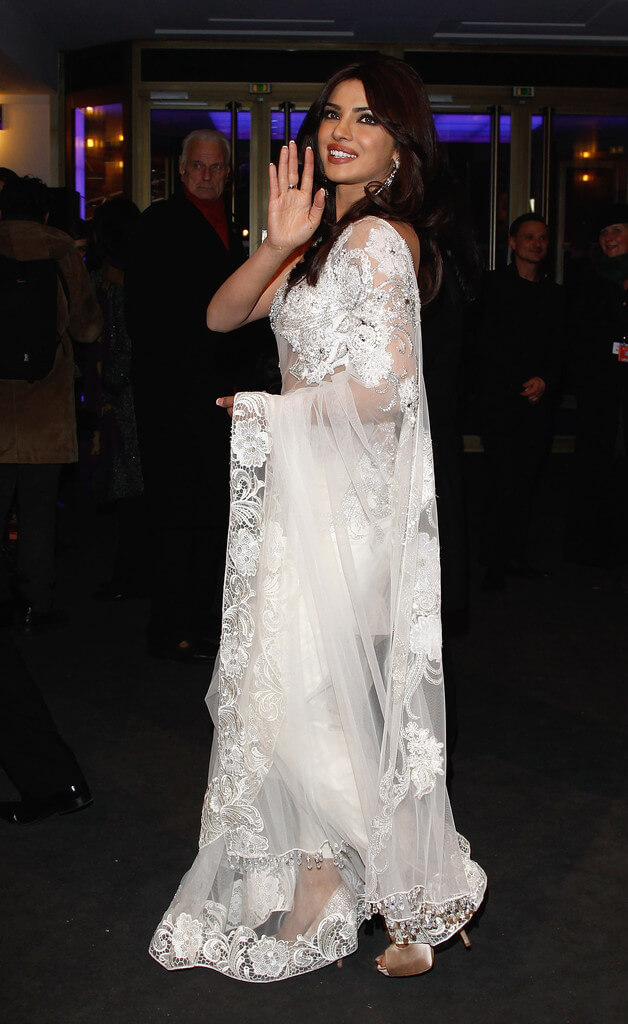 Priyanka Chopra In Transparent Dress