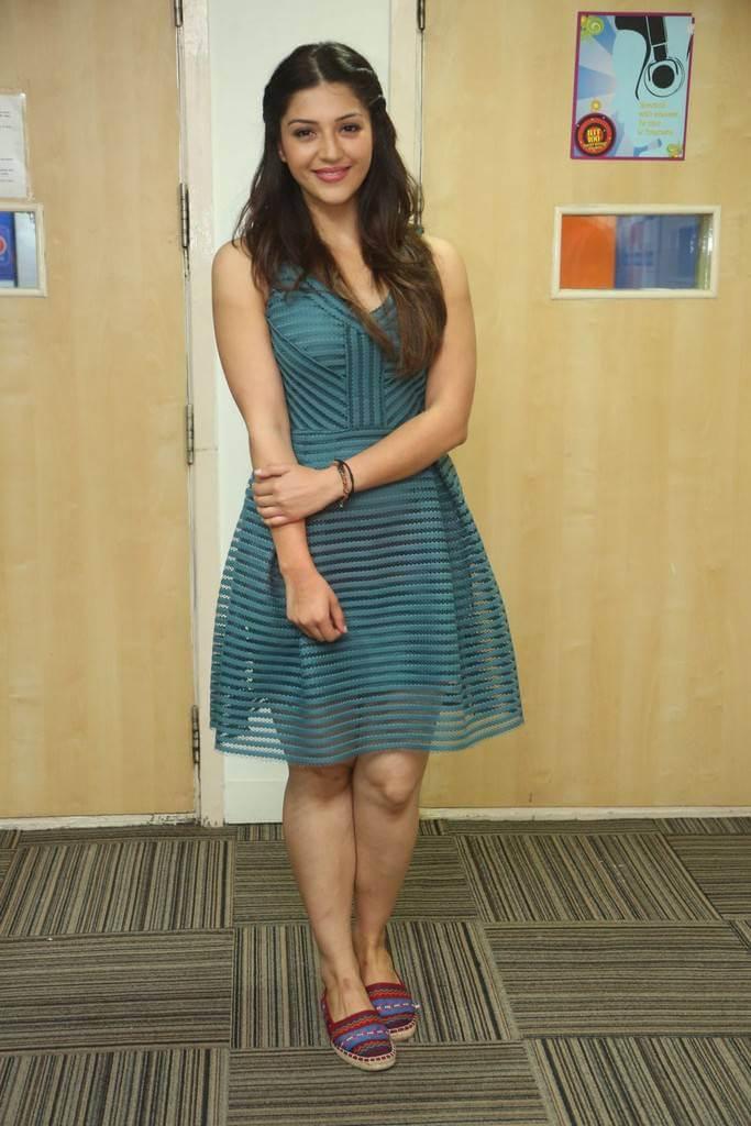 Mehreen Kaur at Radio Station