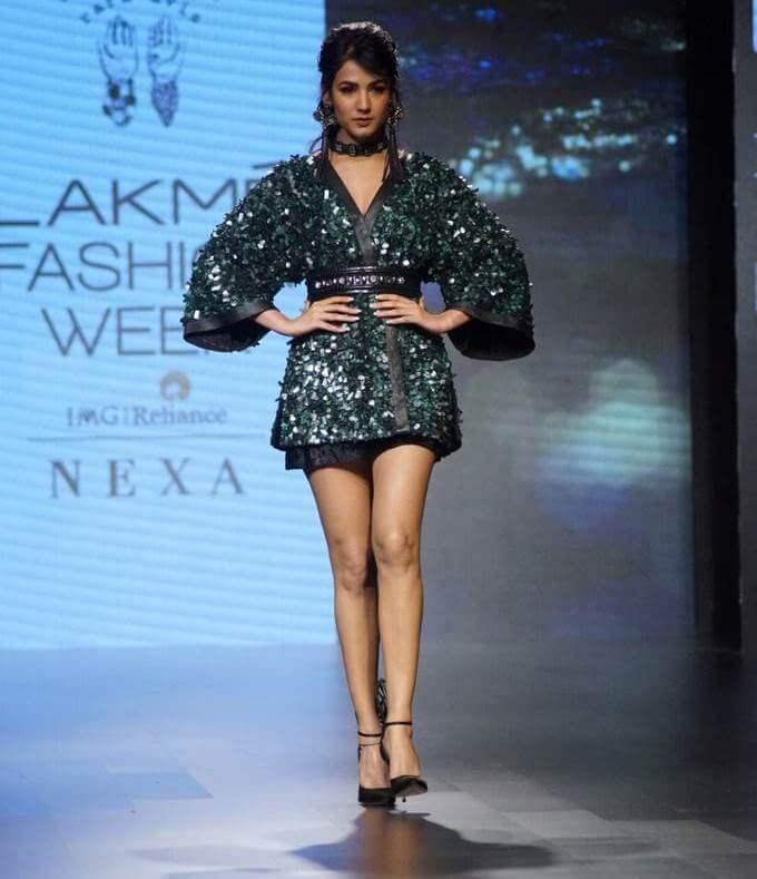 Sonal Chauhan Ramp Walk Stills