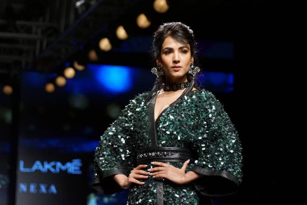Sonal Chauhan At Lakme Fashion Week