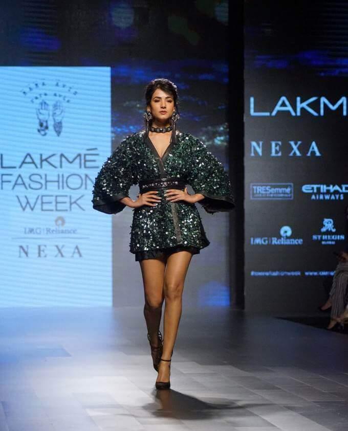 Sonal Chauhan Lakme Fashion Week Stills