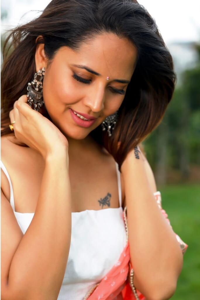 Anasuya BharadwajKathanam Movie Promotion Pics