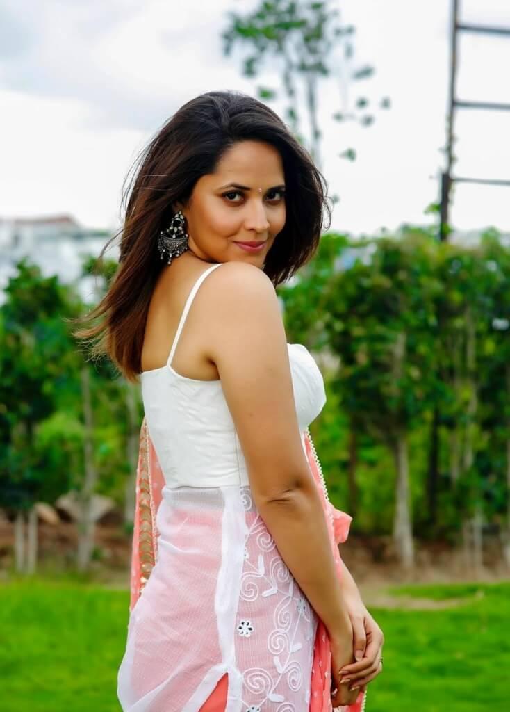 Anasuya BharadwajLatest Movie Promotion Pics