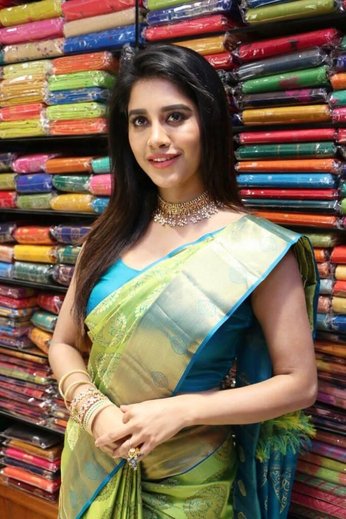 Nabha Natesh In Navel Show
