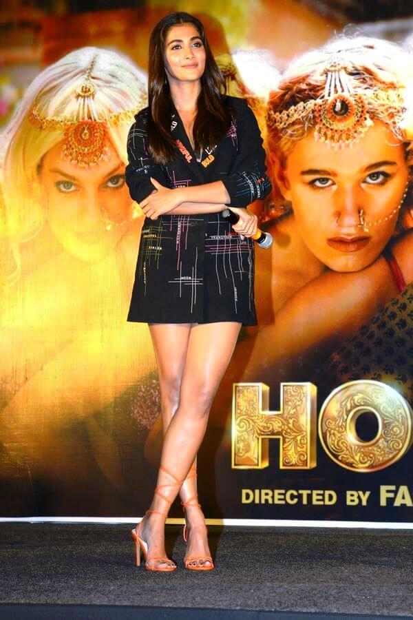 Pooja Hegde Stills In Skirt