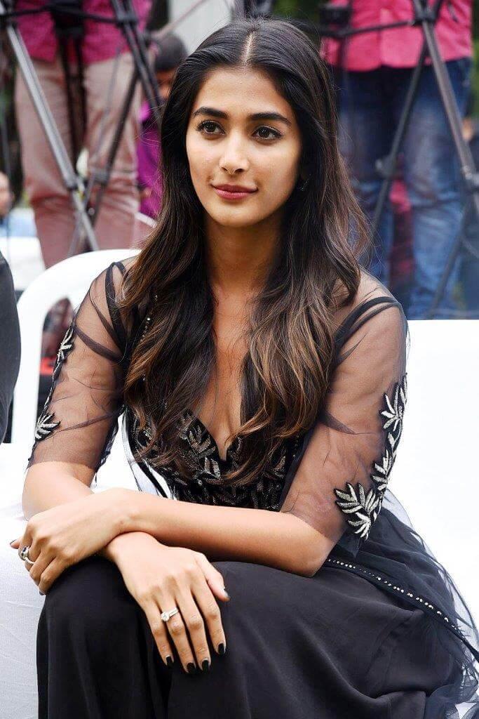 Pooja Hegde At Elluvachi godaramma Song Launch Event