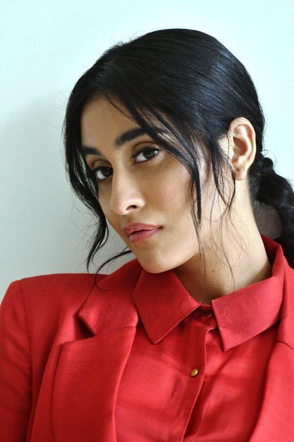 Regina Cassandra Latest Shoot Pics In Red Suit