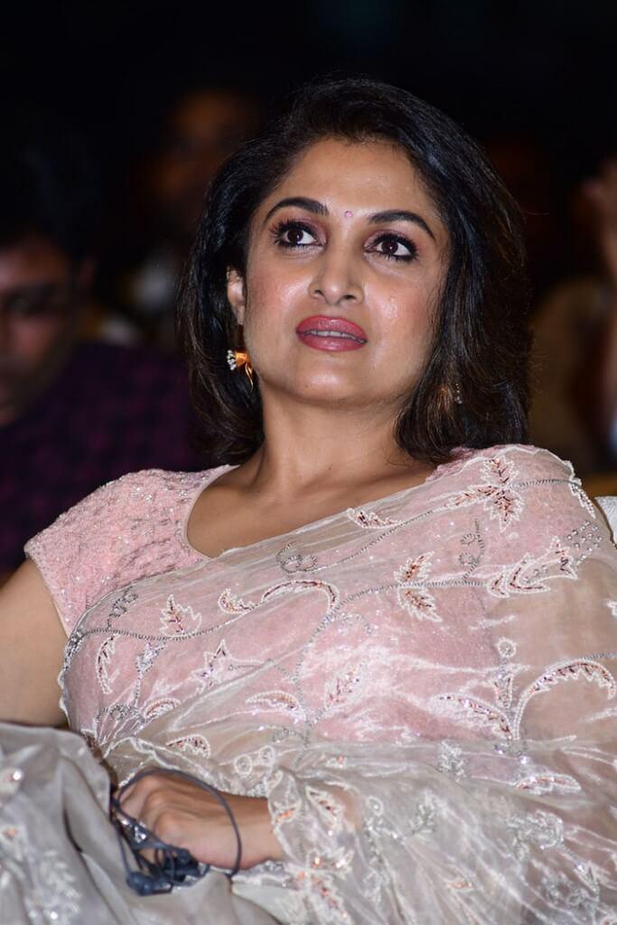 Actress Ramya Krishna In Transparent Saree