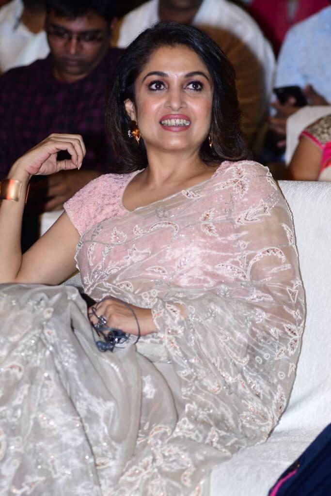 Actress Ramya Krishna Saree