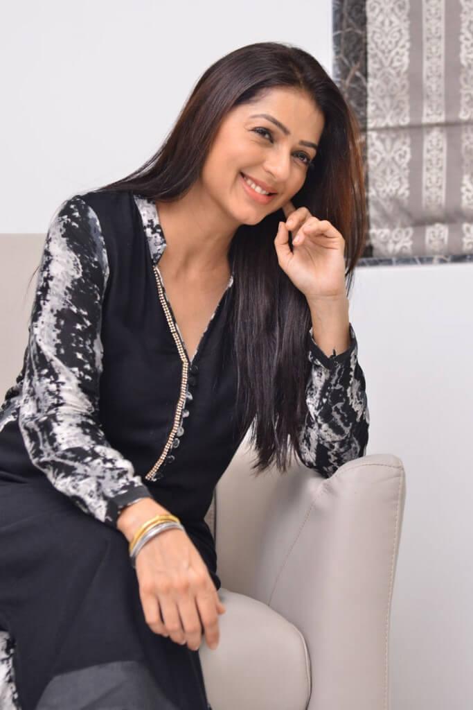 Bhumika Chawla Latest Clicks In Black Dress